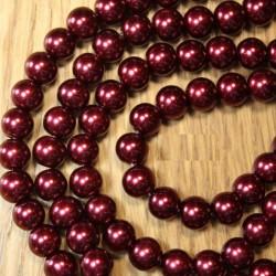 Lot de 25 perles nacrées...