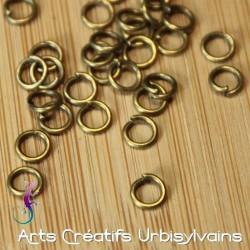 Lot de 25 anneaux simples...