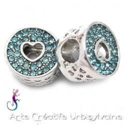 Perle charms cœur en métal...