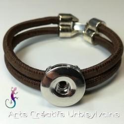 Bracelet en liège marron...