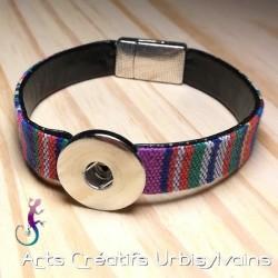 Bracelet en tissus péruvien...