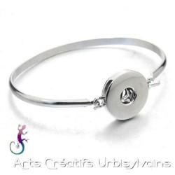 Bracelet en acier inox et...