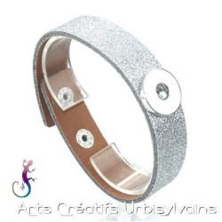 Bracelet en cuir avec...